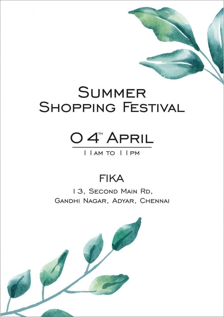 Summer Shopping Festival